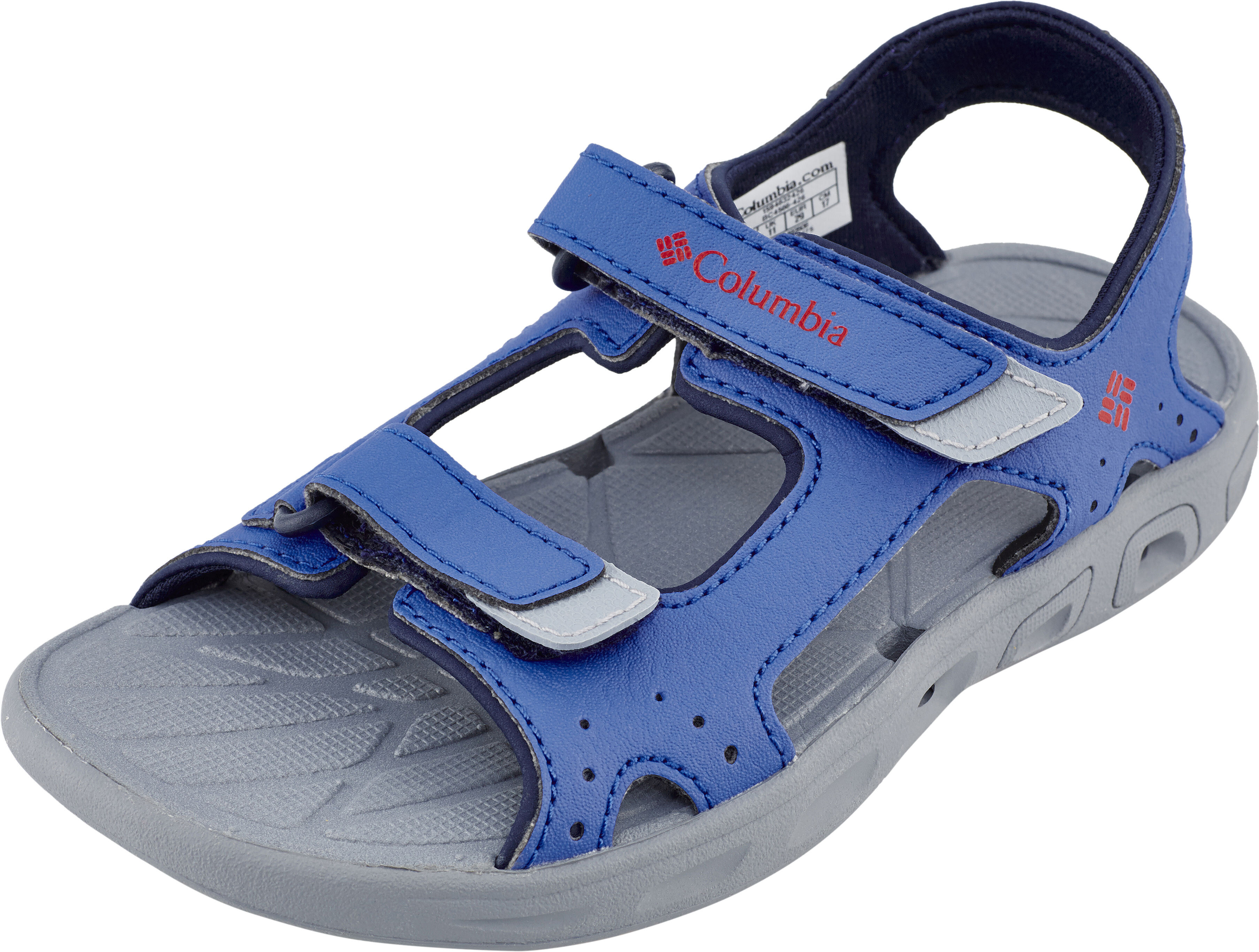 Columbia Techsun Vent Sandals Children Grey Blue At